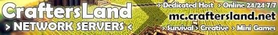 CraftersLand Network Minecraft Server