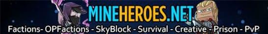 MineHeroes Minecraft Server