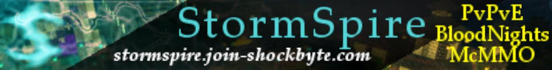 StormSpire Minecraft Server
