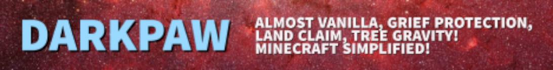 Dark Paw Minecraft Server
