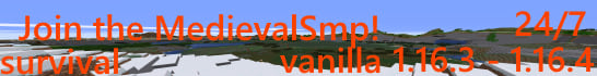MedievalSmp Minecraft Server