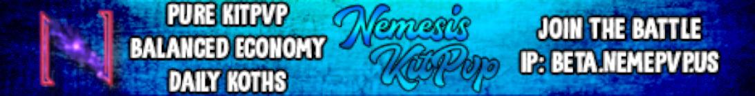 Nemesis KitPvP Minecraft Server