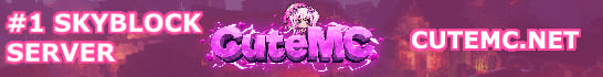 CuteMC Skyblock Minecraft Server