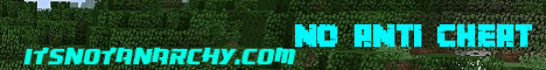 ItsNotAnarchy Minecraft Server